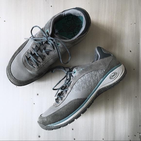 c634f2fd1ad13 Chaco Gray Tennis Hiking Shoes Sz 9